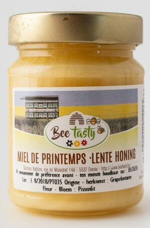 Paardebloem honing uit Grapefontaine